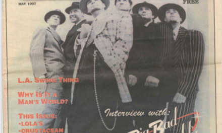May 1997 – Big Bad Voodoo Daddy (1st issue)