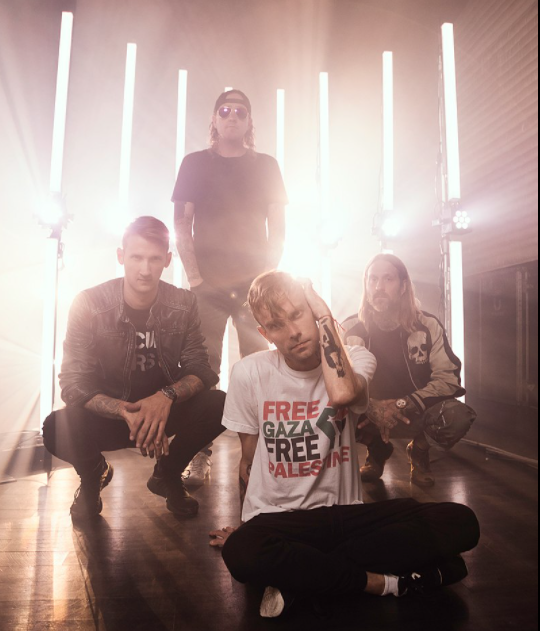 The Used spotlight